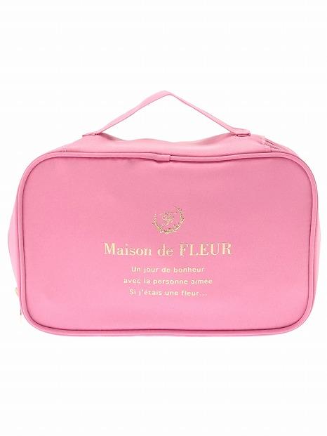可愛くて機能的!「Maison de FLEUR」のトラベルグッズで春の旅行を楽しんで♡