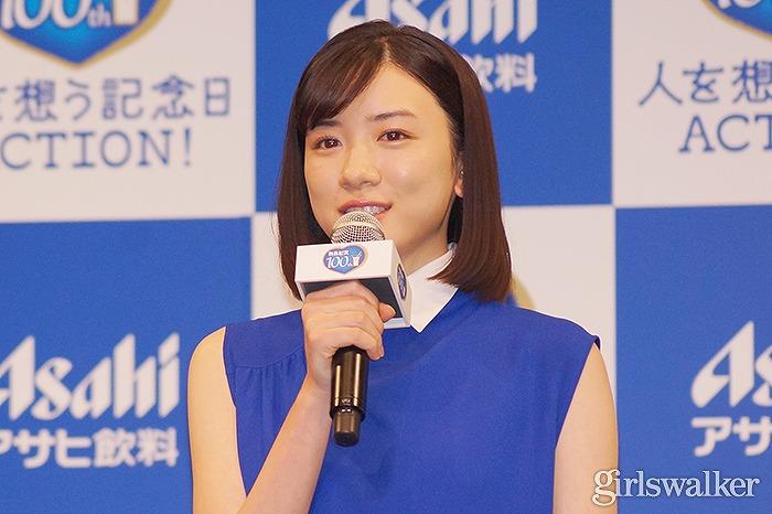 永野芽郁、CMの先輩・長澤からのお墨付きに照れ笑い「キラキラ輝いてる」