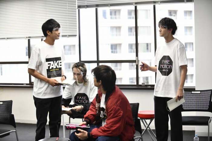 s-FAKE MOTIONオンライン朗読劇オンライン舞台八王子稽古05