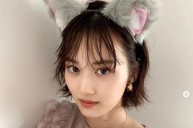 乃木坂46 山下美月、猫耳ショットにファン悶絶「これはえぐい」「意味わからんくらい可愛い」