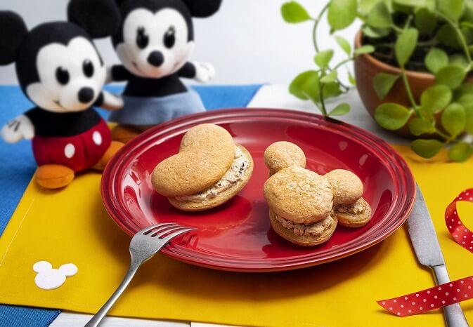 東京ばな奈_ディズニー_スイーツショップ_Disney SWEETS COLLECTION by 東京ばな奈_期間限定_パンケーキサンド