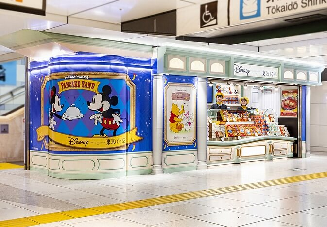 東京ばな奈_ディズニー_スイーツショップ_Disney SWEETS COLLECTION by 東京ばな奈_期間限定_静岡県