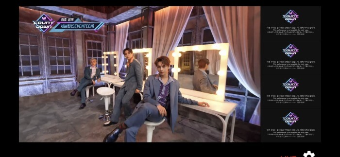 s-SEVENTEEN Opening01★_MCOUNTDOWNマルチアングル