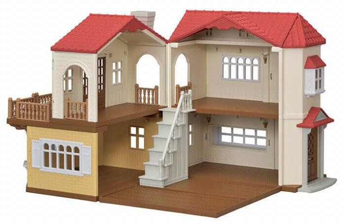 RINGO_シルバニアファミリー_コラボ_赤い屋根の大きなお家