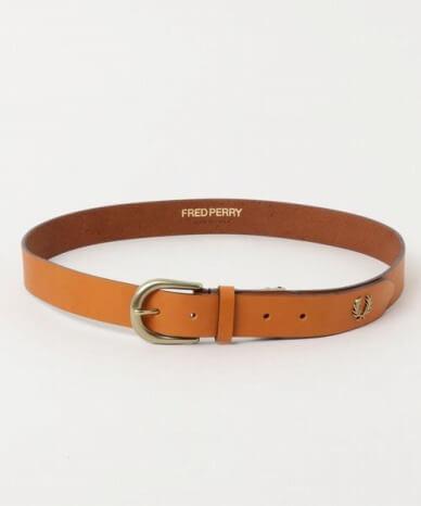 クリスマスプレゼント_FRED PERRY_Leather Adjustable Belt 11,000円(税込)