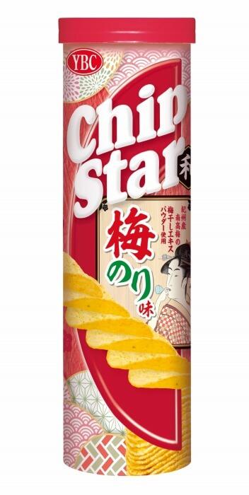 チップスターL 梅のり味 230円(希望小売価格・税抜)