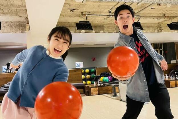森七菜&仲野太賀、息ぴったりのボウリング写真に「キキマコしか勝たん」「かわいすぎん?」の声殺到