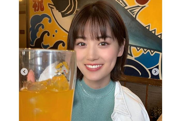 乃木坂46 山下美月と乾杯♡彼女感満載なオフショットにファン悶絶「好きが溢れる」