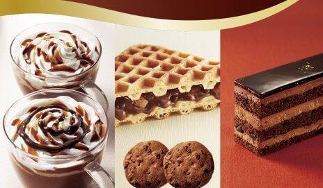 「ドトール」ショコラフェア開催決定!チョコ好きにはたまらない魅惑のラインアップ