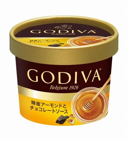 蜂蜜アーモンドとチョコレートソース 298円(希望小売価格・税抜)_ゴディバ