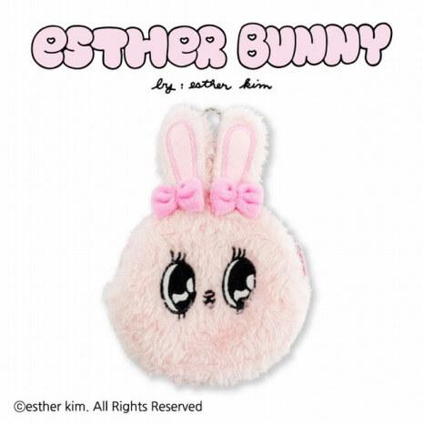 Esther Bunny_コラボ_サンキューマート_ダイカットポーチ
