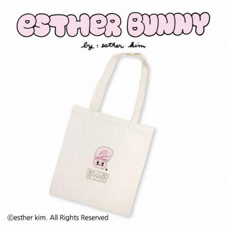 Esther Bunny_コラボ_サンキューマート_フラットトート