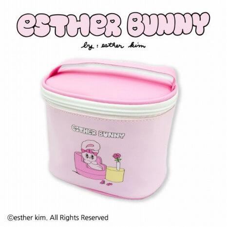 Esther Bunny_コラボ_サンキューマート_コスメポーチ
