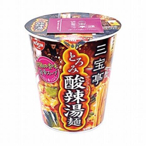 三宝亭東京ラボ 酸辣湯麺 212円(ファミリーマート通常価格・税抜)