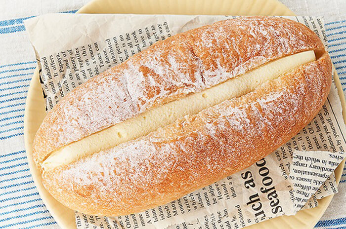 VLふわふわクリームのパン