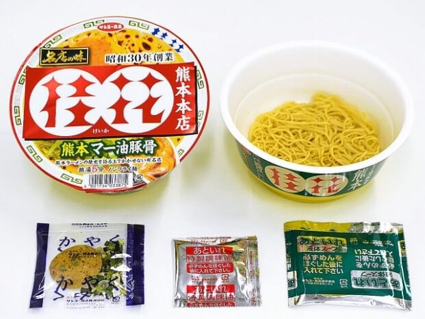 名店の味 桂花 熊本マー油豚骨215円(税抜)