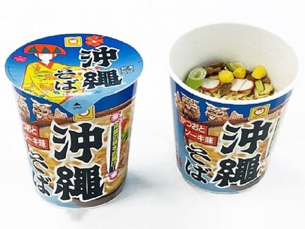 マルちゃん 縦型ビッグ沖縄そば 215円(税抜)