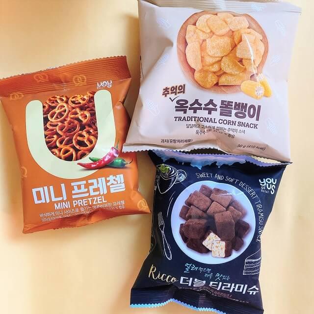 韓国コンビニ_韓国なう_コンビニお菓子_GS25_オリジナルブランド