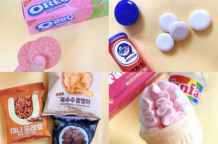 パッケージがかわいい♡韓国コンビニの新作お菓子10選<韓国現地レポ>
