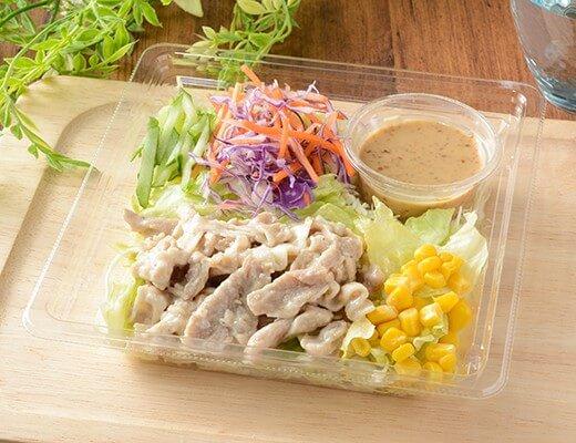 豚しゃぶのサラダ 399円(ローソン標準価格・税込)