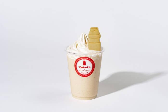 アイス de ヤクルトシェイク 500円(税込)