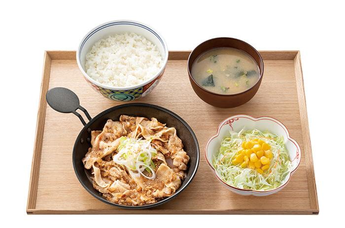 吉野家_ねぎ塩豚丼 460円(税抜)