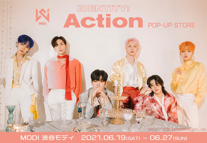 WEi IDENTITY : Action POP UP STORE