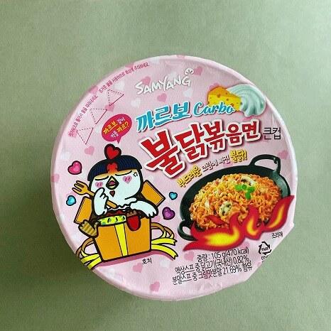 韓国コンビニ_グルメ_カップ麺