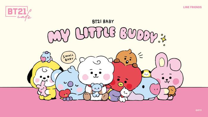 「BT21カフェ」第9弾~MY LITTLE BUDDY~
