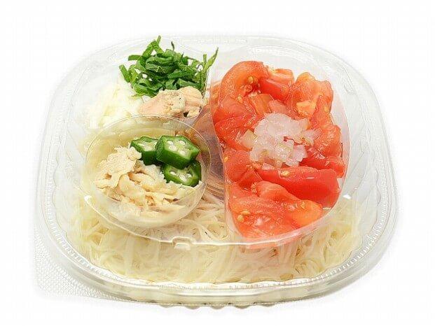 セブン-イレブンアスリートそうめん トマトと蒸し鶏 510円(税抜)