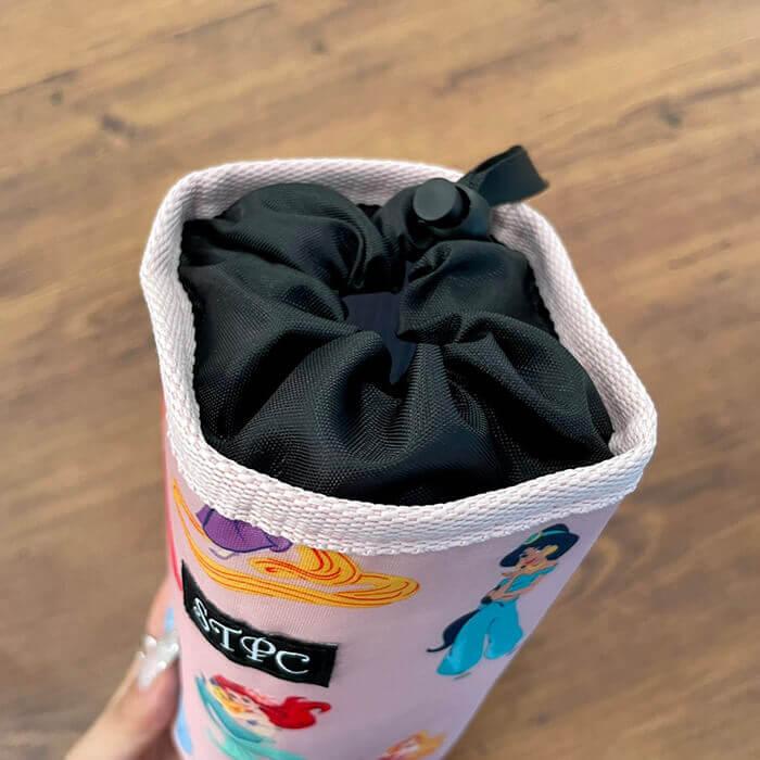 サマンサタバサプチチョイス ディズニープリンセスデザインの保冷・保温バッグ&ペットボトルホルダー