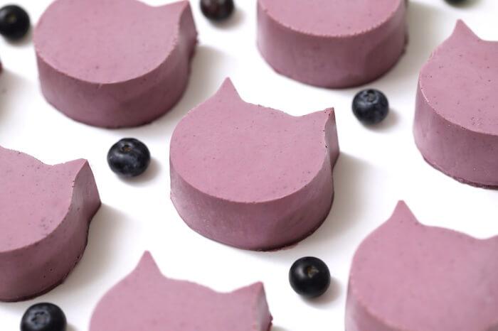 ねこねこチーズケーキ ブルーベリー
