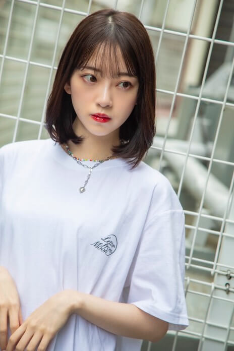 MIONA × LETTER FROM MOON コラボレーションTシャツ