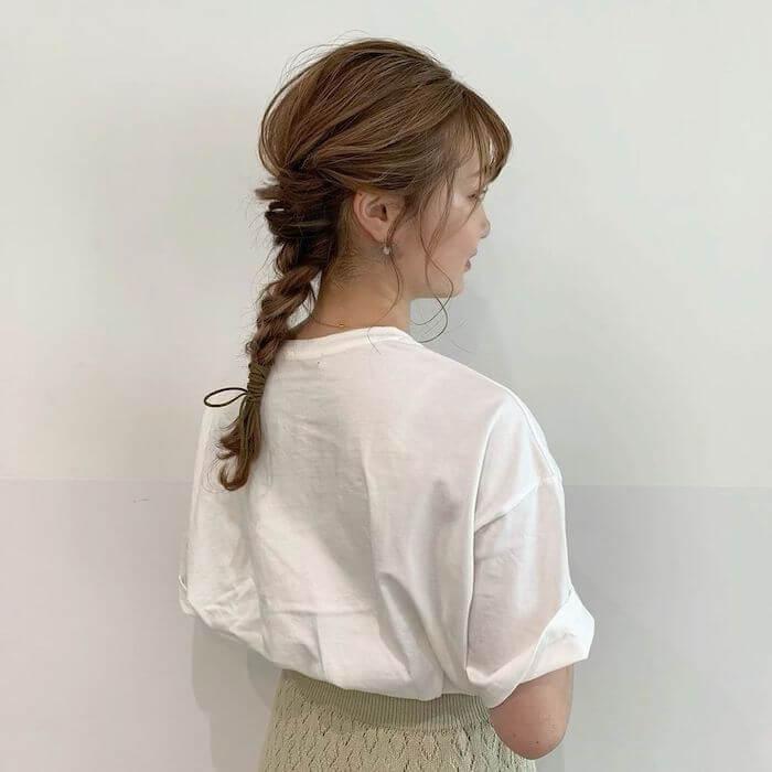 まとめ髪ヘアアレ