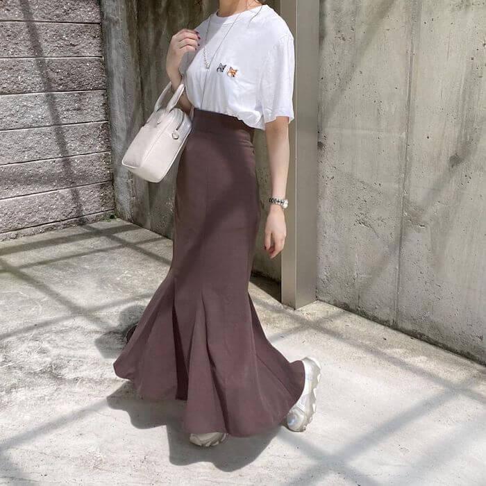 GRL、マーメイドスカート