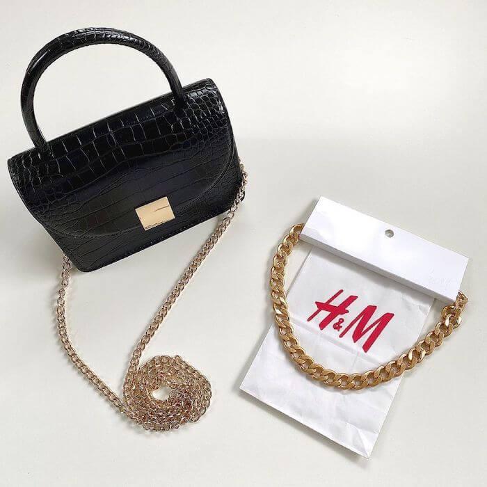 H&M、チェーンアイテム