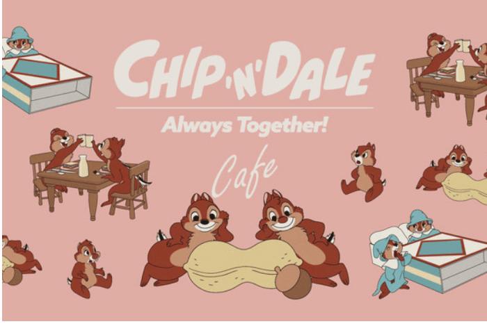 チップ&デール OH MY CAFE