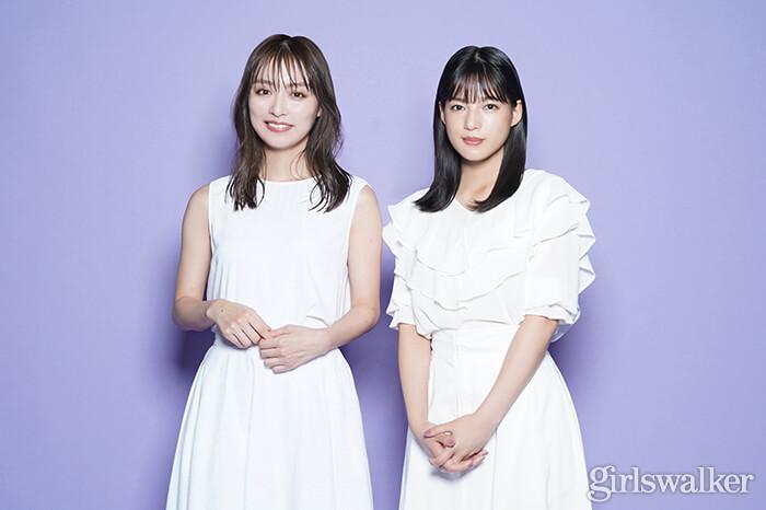 石井杏奈×内田理央